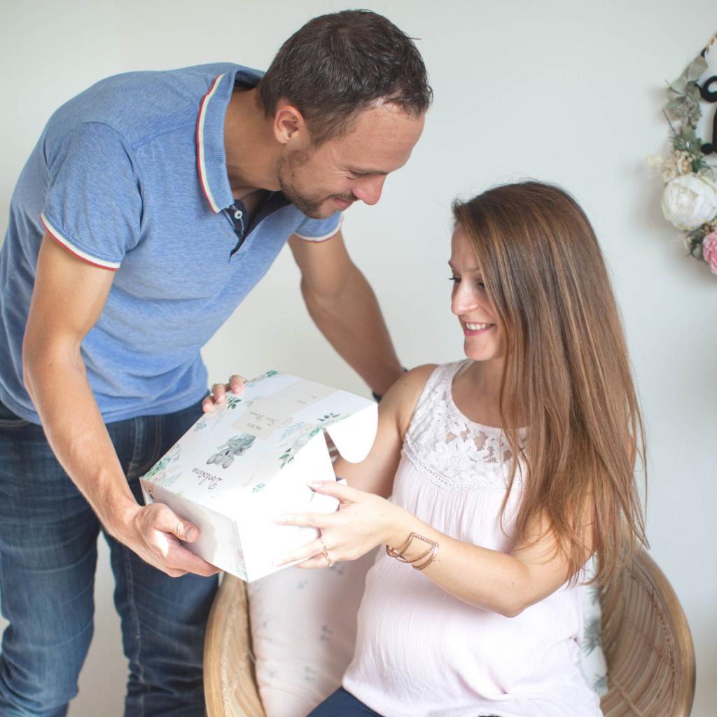Offrir une box de grossesse